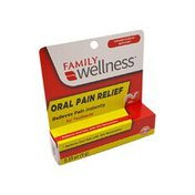 Family Wellness Oral Pain Relief Gel