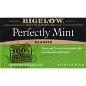 Bigelow Tea, Perfectly Mint, Classic, Bags