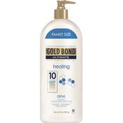 Gold Bond Skin Therapy Lotion, Healing, Aloe, Family Size