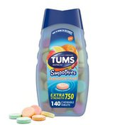 Tums Chewable Extra Strength Antacid Tablets