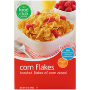 Food Club Corn Flakes Toasted Flakes Of Corn Cereal