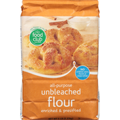 Food Club Enriched & Presifted All-Purpose Unbleached Flour