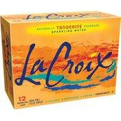 LaCroix Sparkling water, Tangerine