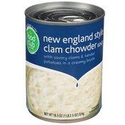 Food Club Soup, Clam Chowder, New England Style