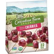Cascadian Farm Organic Cherries, Premium Frozen Fruit, Non-GMO, Resealable