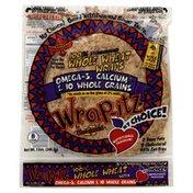 Wrap Itz Whole Wheat Wraps, 100% Stoneground