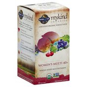 Garden of Life Multivitamin, Whole Food, Women's Multi 40+, Vegan Tablets