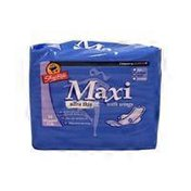 ShopRite Medium & Heavy Ultra Thin Maxi Pads With Wings