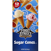 First Street Sugar Cones