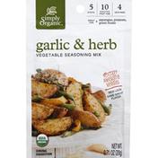 Simply Organic Vegetable Seasoning Mix Garlic & Herb