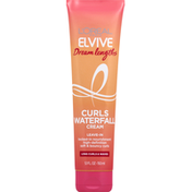 L'Oreal Curls Waterfall Cream, Leave-In, Dream Lengths