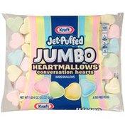 Jet-Puffed Kraft uffed Jumbo HeartMallows Conversation Hearts Marshmallows