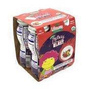 Lifeway Organic Pro Bugs Blast Kefir Cultured Strawberry Milk Smoothie