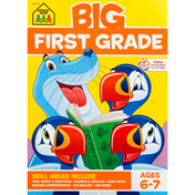 School Zone Workbook, First Grade, Big