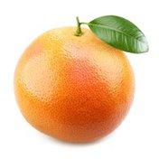Organic red grapefruit