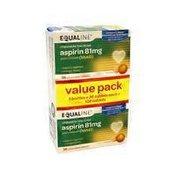 Equaline Aspirin 81 Mg Adult Chewables Value Pack