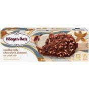 Haagen-Dazs HAAGEN-DAZS Vanilla Milk Chocolate Almond Ice Cream Bar