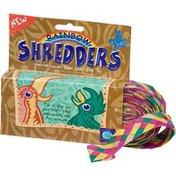 Planet Pleasures Rainbow Shredders Woven Palm Leaf Bird Toy