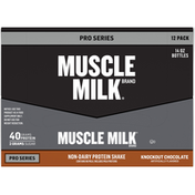 CytoSport Muscle Milk Protein Shake, Non-Dairy, Knockout Chocolate, Pro Series, 12 Pack