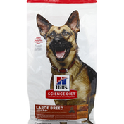 Hill's Science Diet Dog Food, Chicken Meal, Barley & Brown Rice Recipe, Large Breed, Adult 6+