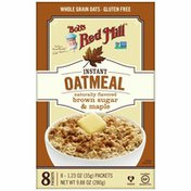 Bob's Red Mill Brown Sugar & Maple Instant Oatmeal Packets
