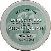 Griffin Shoe Polish, Premium, Neutral