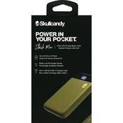 Skullcandy Battery Pack, Portable, 5,000 mAh, Stash Mini