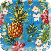 Party Creations Plates, Aloha