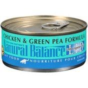 Natural Balance L.I.D. Chicken & Green Pea Formula Cat Food