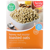 Food Club Honey Nut Toasted Oats Sweetened Toasted Oat Cereal With Honey