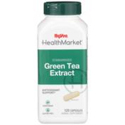 Hy-Vee Healthmarket, Standardized Green Tea Extract Antioxidant Support Herbal Supplement Vegetarian Capsules