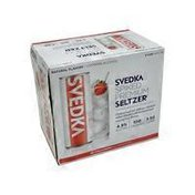 Svedka Strawberry Elderflower Spiked Premium Seltzer
