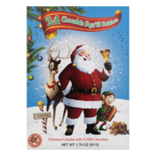 Albert's Christmas Calendar with 24 Milk Chocolates