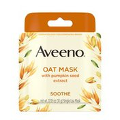 Aveeno Oat Mask With Pumpkin Seed Extract