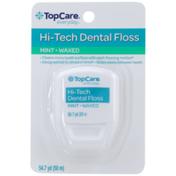 TopCare Hi-Tech Waxed Dental Floss, Mint