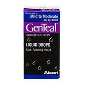 GenTeal Liquid Eye Drops Mild to Moderate Dry Eye Relief