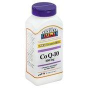21st Century Foods Co Q-10, 100 mg, Capsules, Bonus Size
