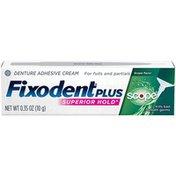 Fixodent Plus Scope Superior Hold Adhesive Cream