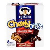 Quaker Dipps Chocolate Chip Granola Bars