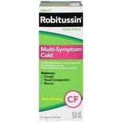 Robitussin Syrup Adult Peak Cold CF Robitussin Adult Peak Cold Multi-Symptom CF Liquid