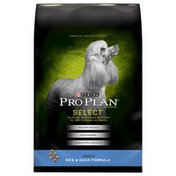 Purina Pro Plan Select Rice & Duck Adult Dog Food