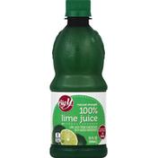 Big Y 100% Juice, Natural Strength, Lime