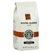 Starbucks Coffee, Ground, Medium, House Blend