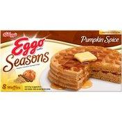 Kellogg's Eggo Seasons Pumpkin Spice Waffles