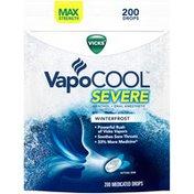 Vicks VapoCOOL SEVERE Medicated Drops, Maximum-Strength Relief