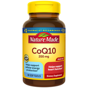 Nature Made CoQ10 200 mg Softgels Value Size