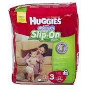 Huggies LITTLE MOVERS SLIP-ON Diapers Step 3 Jumbo Pack 26