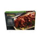 Vegetarian Plus Imitation Chicken In Vegan Ginger Sauce
