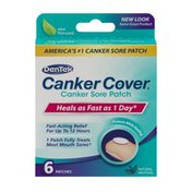 DenTek Canker Cover Canker Sore Patch Mint - 6 CT