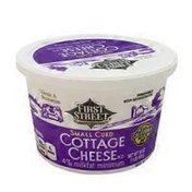 First Street Small Curd Cottage Cheese